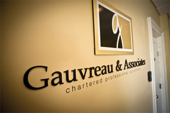 Picture of Gauvreau and Associates sign
